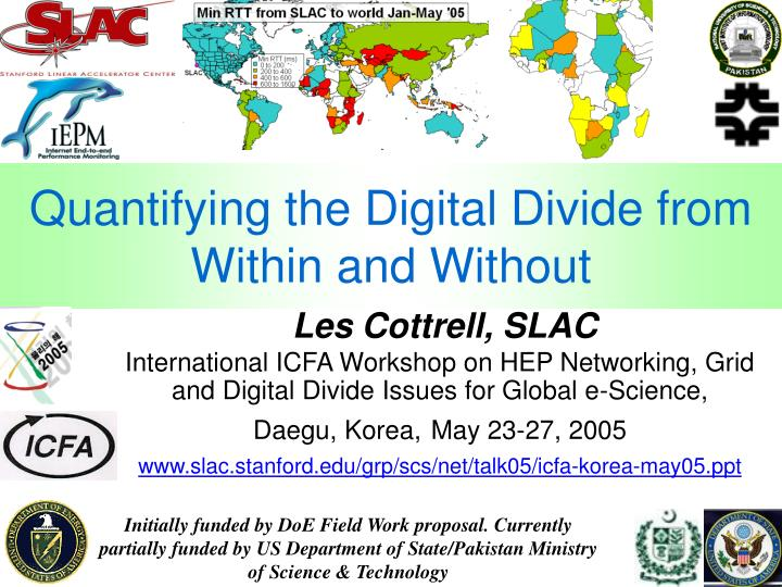 quantifying the digital divide from within and without n.