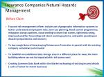 insuranc e companies natural hazards management1