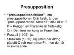 presupposition1
