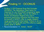 finding 11 oconus
