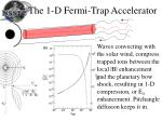 the 1 d fermi trap accelerator