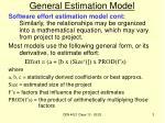 general estimation model1
