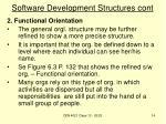 software development structures cont1