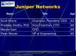 juniper networks1