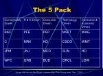 the 5 pack