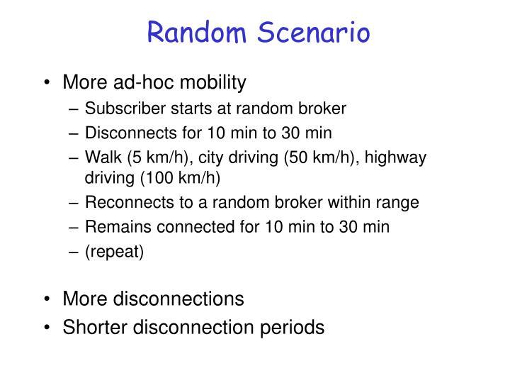 Random Scenario
