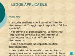 legge applicabile2