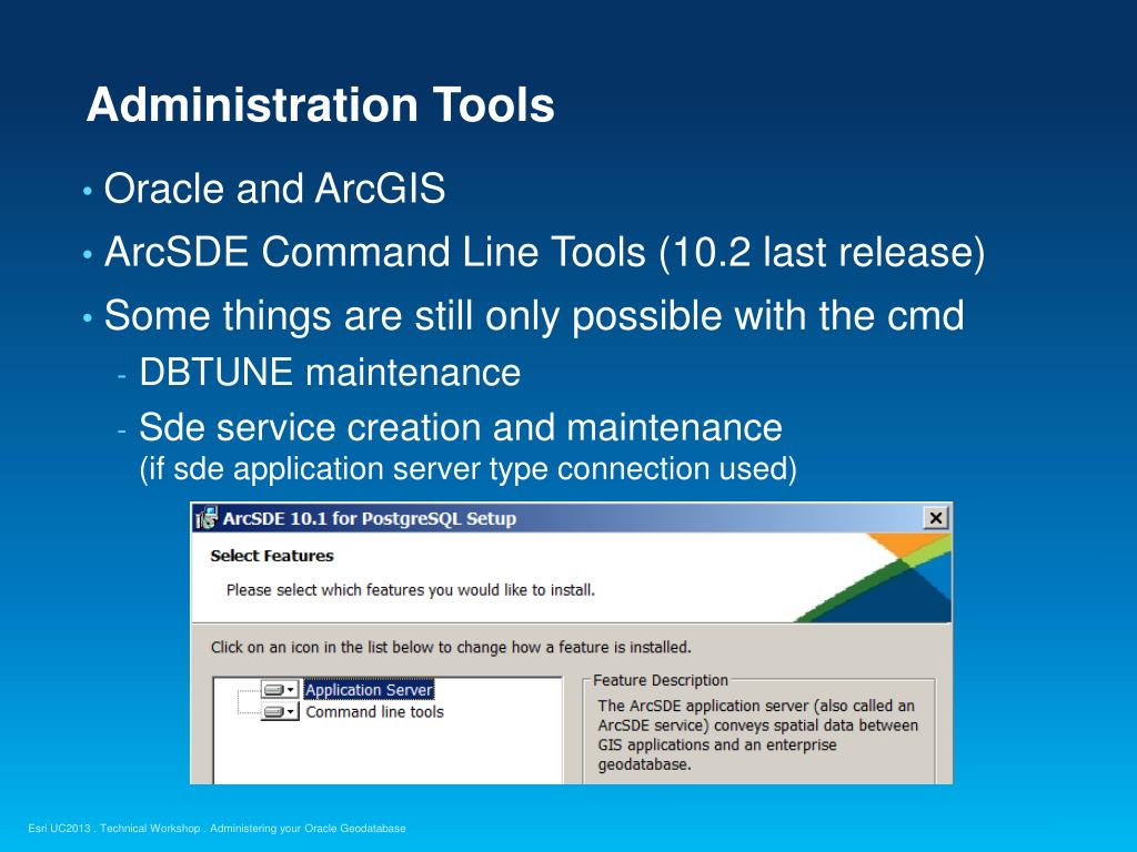 Arcgis Oracle Database Connection
