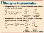 benzyne intermediates1
