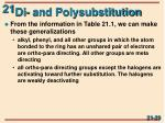 di and polysubstitution5