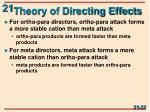 theory of directing effects1