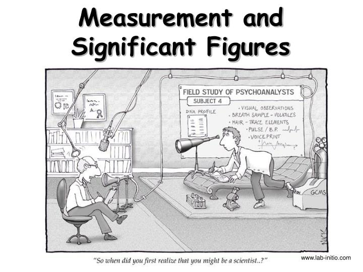 measurement and significant figures n.