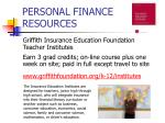 personal finance resources11