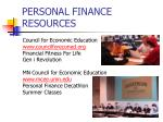 personal finance resources2