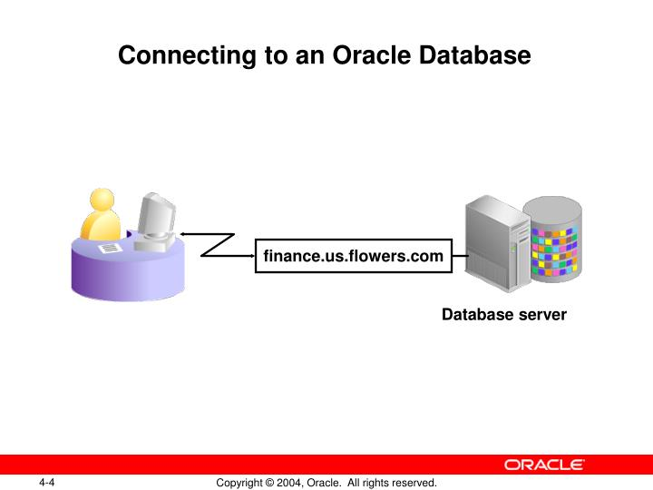 Connecting to an Oracle Database