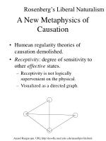 a new metaphysics of causation