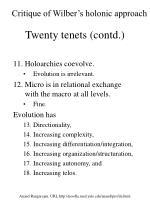 twenty tenets contd2