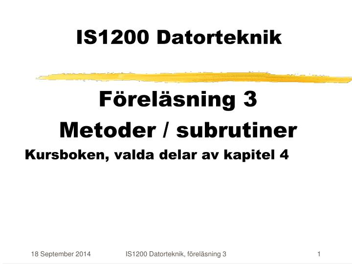 is1200 datorteknik n.