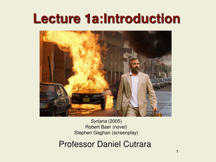 lecture 1a introduction n.