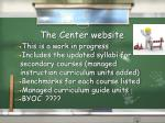 the center website