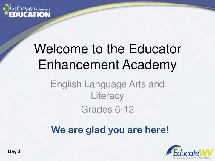 welcome to the educator enhancement academy n.