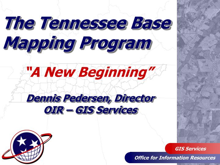 the tennessee base mapping program n.