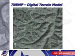 tnbmp digital terrain model