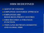 hrm redefined1