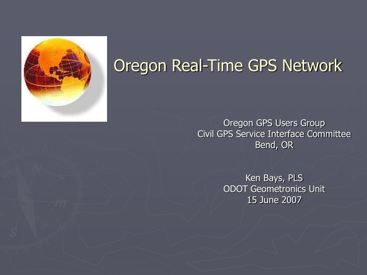 oregon real time gps network n.