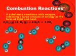 combustion reactions2