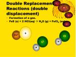 double replacement reactions double displacement1