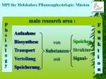 mpi f r molekulare pflanzenphysiologie mission1