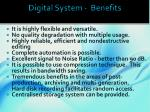 digital system benefits