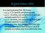 digital video sdi