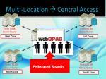 multi location central access