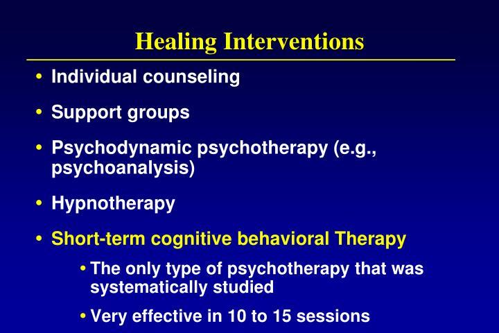 Healing Interventions