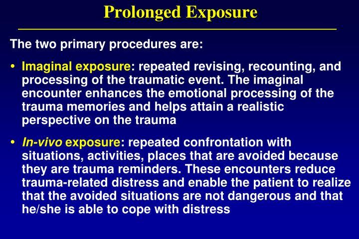 Prolonged Exposure
