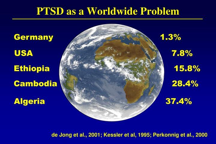 PTSD as a Worldwide Problem
