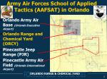 army air forces school of applied tactics aafsat in orlando