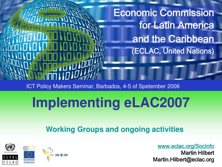 Implementing elac2007