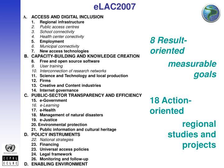 eLAC2007