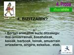 4 bizitzarik
