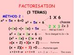 factorisation1