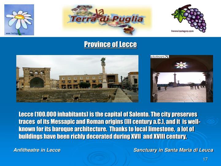 Province of Lecce