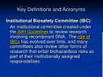 key definitions and acronyms2