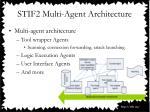 stif2 multi agent architecture