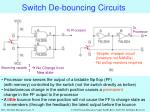 switch de bouncing circuits