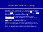 implementation of control strategy1