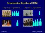 segmentation results on ethz1