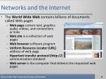 networks and the internet2